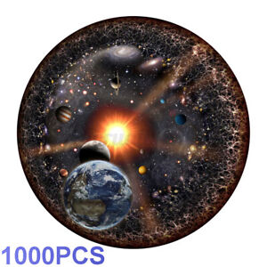1000-Pieces-Space-Jigsaw-Round-Puzzle-Earth-Boys-DIY-Kids-Toy-Adult-Xmas-Gift