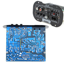 80W Amplifier Stereo Speaker Motherboard AC 110-240V DC 12-24V Decoder Board