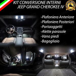 Kit led interni jeep grand cherokee iv kit completo canbus for Luci led per interni