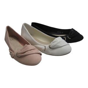 Damen-Ballerinas-in-rosa-Groesse-37-38-Ballerina-in-hochwertige-Lederoptik-rose
