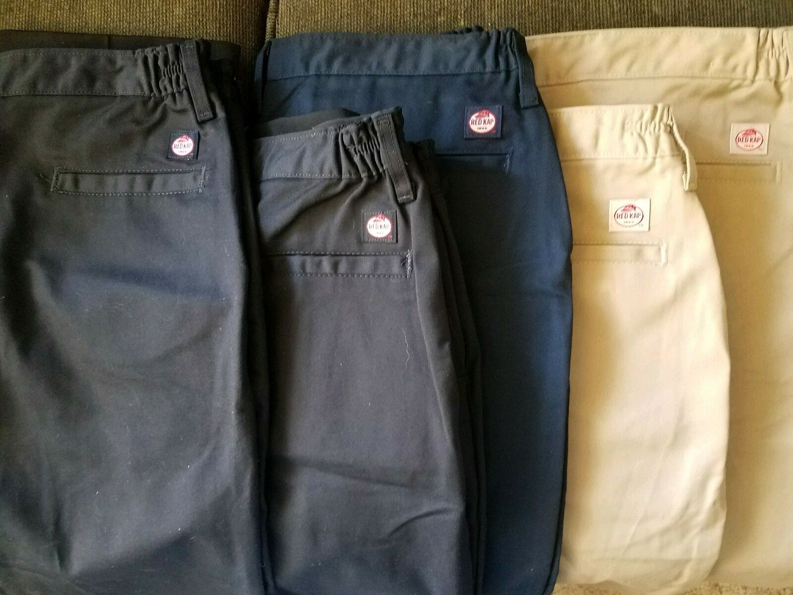 Work pants for women, brand new, Redkap size 18 5-pairs, Pinnacle sz XL 2-pairs