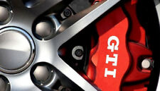 GTI Premium Brake Caliper Decals Stickers x6
