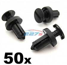 50x Renault Plastic Trim Clips- Fit into a 6.5mm Hole. Used on many models