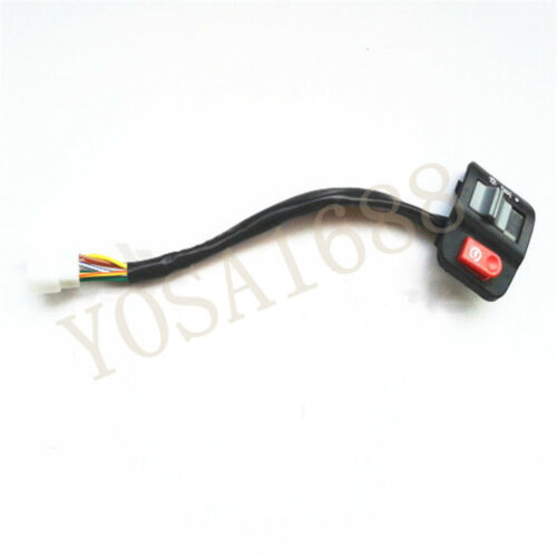 Details about  /Motorcycle light handlebar switches plastic interruptor motocycle on//off button