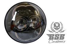 """LED SCHEINWERFER 5,75"""" für Harley Davidson FXST Softail Standart """"BSB Customs"""""""