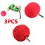 "3Pcs Red 3/"" Buffing Ball Sponge Finishing Buff Polishing Pad For Car Polishing"