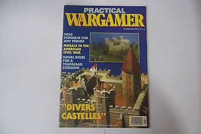 PRACTICAL WARGAMER NOV/DEC 1991 SOLO SCENARIO FOR ANY PERIOD - WARGAME  MAGAZINE | eBay