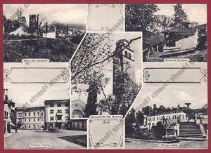 PORDENONE-MANIAGO-13-VEDUTINE-Cartolina-viaggiata-1964