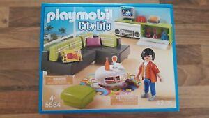 5584-Playmobil-Wohnzimmer-Zimmer-fuer-Wohnhaus-Luxusvilla