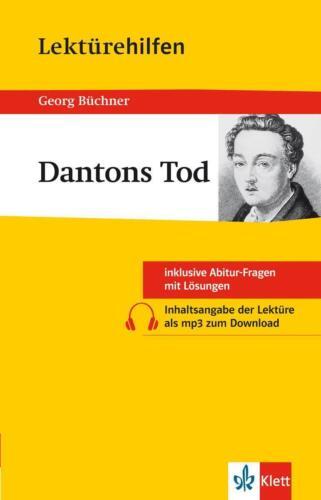 """1 von 1 - Lektürehilfen Georg Büchner """"Dantons Tod"""" von Georg Büchner (2016, Taschenbuch)"""