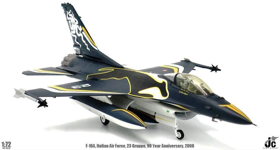 Jc Flügel Jcw72f16004 1 72 F16c Italienisch Air Force 23 Gruppo 90th