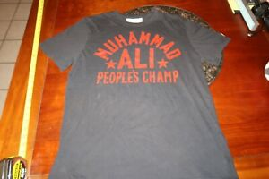 Under Armour x Roots Of Fight Muhammad Ali People's Champ Black T Shirt LARGE