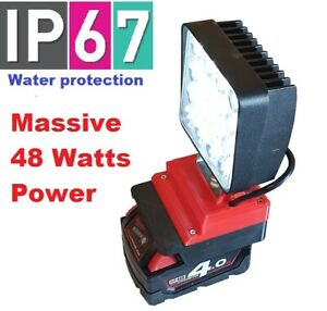 DeWalt super high power 48w work light with 180 degree adjustment