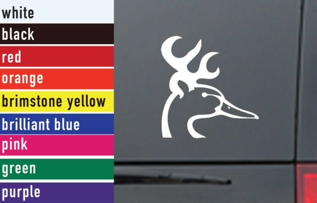 Louisiana state duck hunter vinyl vehicle decal sticker
