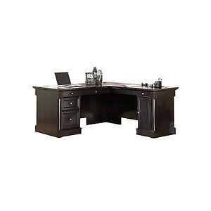 Sauder 417714 Avenue Eight Wind Oak Lshaped Desk eBay