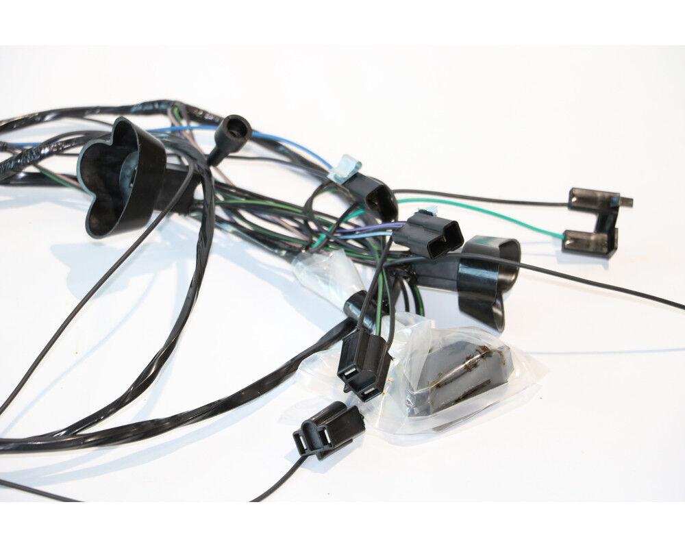 1967 GTO Tempest LeMans Front Forward Light Lamp Wiring ...