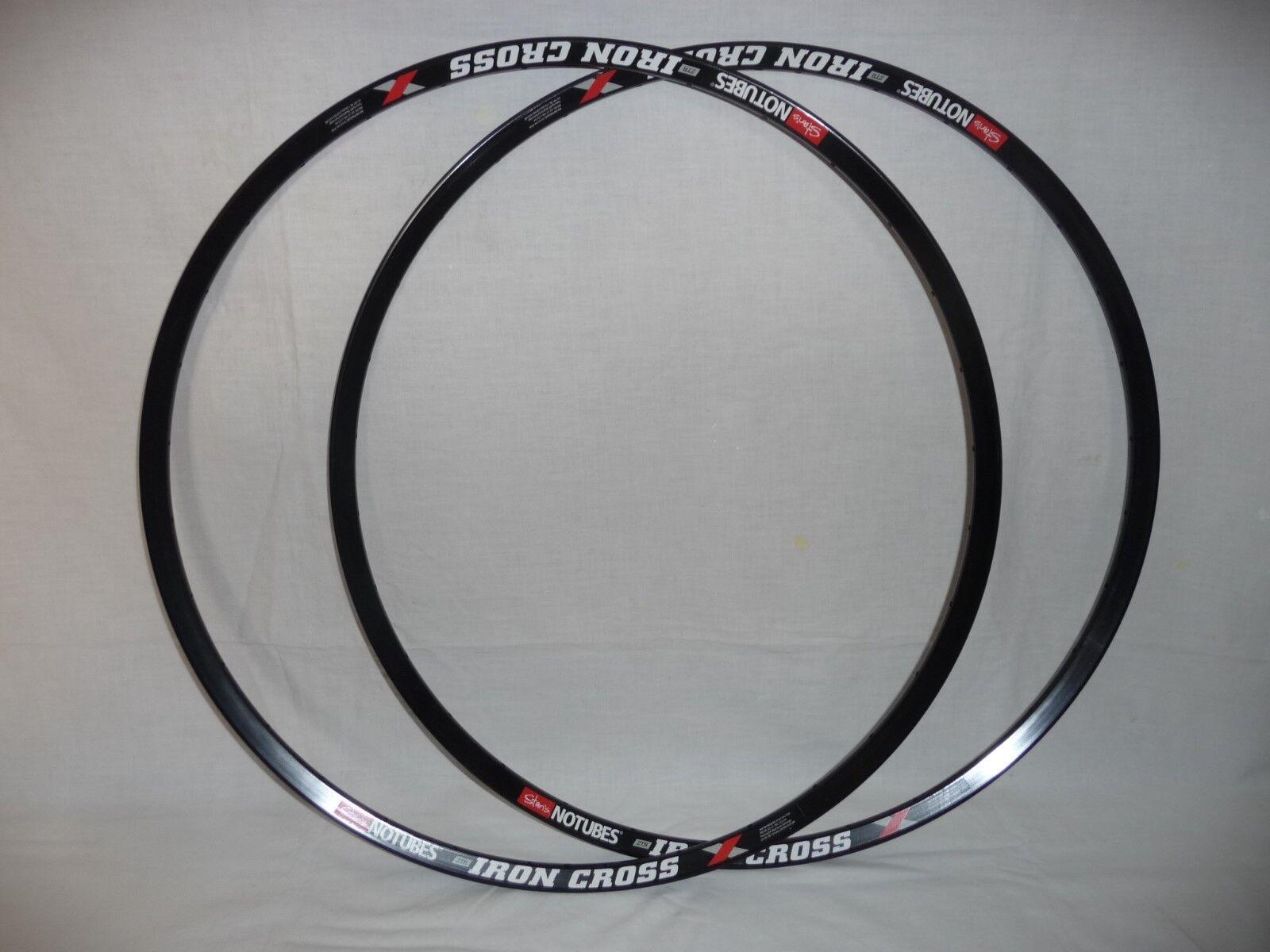 Stans Iron Cross light alloy rims for cyclocross gravel bike x 2