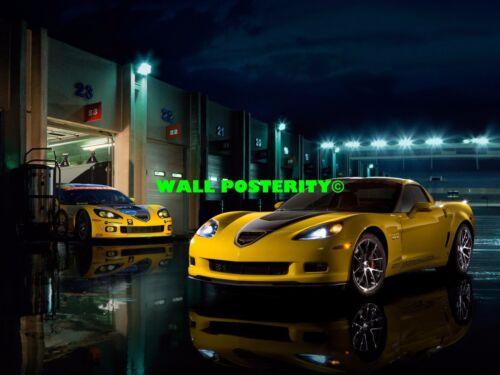 B 2009 CHEVROLET CHEVY CORVETTE Tuning Motorsports CAR POSTER Multiple Sizes