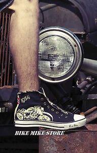 Sneaker Bobber Gr Pistons Rod Hot Hazard Motiv 37 Rockabilly Rusty Chucks 46 fqFpEEB