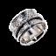 Solid-925-Sterling-Silver-Handmade-Wide-Band-Fidget-Spinner-Ring-Meditation-Ring thumbnail 5