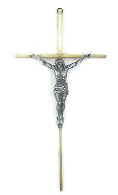 Inri Gold Tone Br Cross Crucifix