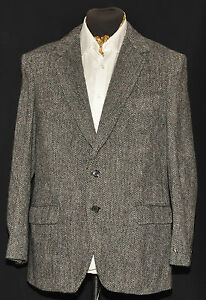 TAILORED-VINTAGE-HEAVY-FLECK-GREY-HARRIS-TWEED-JACKET-42-034-R-1970S