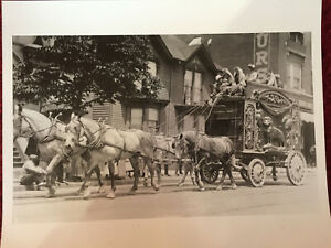 Antique-Photograph-Circus-Wagon-Coming-to-Town-Early-1900-039-s-Print