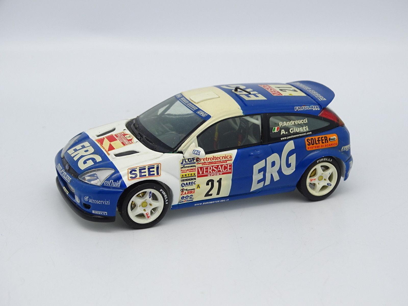 IXO SB 1 43 - FORD FOCUS WRC RALLY RALLY RALLY OF SANREMO 2001 NO.21 4ec8dc