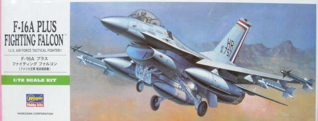 HASEGAWA 1:72 F-16A PLUS FIGHTING FALCON 00231 -NEU- KAMPF-JET -MILITÄR FLUGZEUG