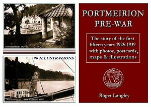 PORTMEIRION-PRE-WAR-1925-1939-BOOK-POSTCARDS-HISTORY-AND-RARE-PHOTOS