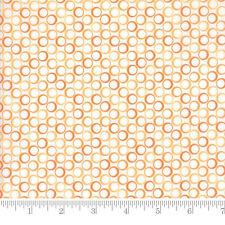 Moda Fabric Frolic Wild Daisies Simply Orange Per 1//4 Metre