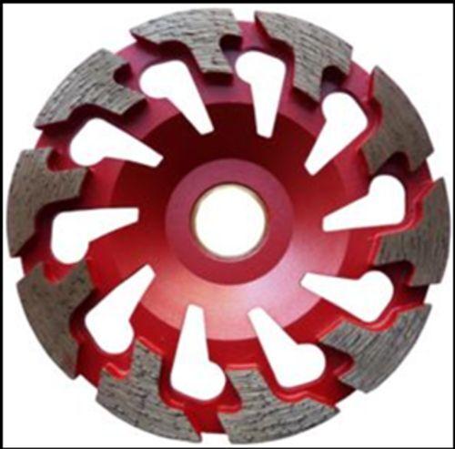 Diamant-Schleifteller Schleiftopf T-Segment 130 mm passend für Festool / Protool
