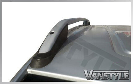 NEW VAUXHALL VIVARO 2014 LWB ALUMINIUM ROOF BARS RAILS RACK NO DRILL LONG VAN