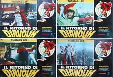 GOLDEN BAT OGON BATTO Italian fotobusta photobusta movie posters x4 SONNY CHIBA