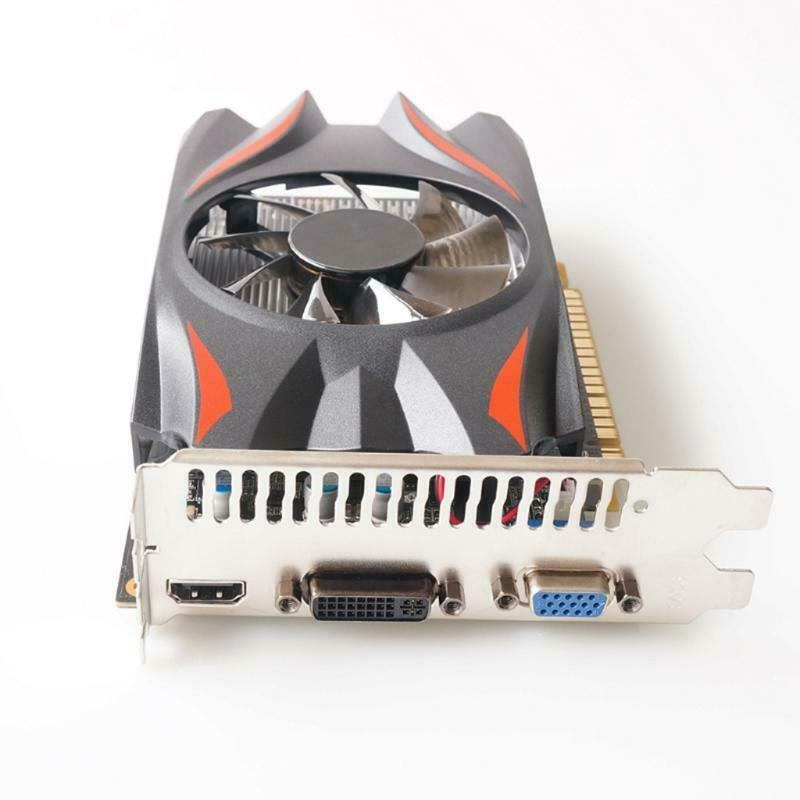 Game Card for NVIDIA GT740 2GB GDDR5 128 Bit Gaming Graphics Card w/ Cooling Fan