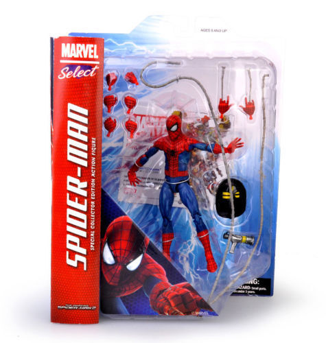 """7/"""" Marvel Spider-Man:Homecoming 3D Model PVC Statue Figure Action Toy Gift"""