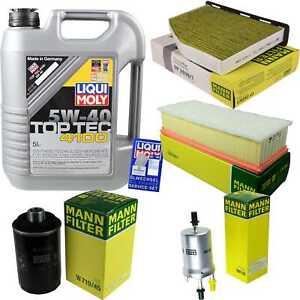 Inspektionskit-Filter-LIQUI-MOLY-Oil-5L-5W-40-For-Audi-Tt-8J3-1-8-TFSI-2-0