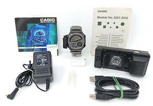 Orologio-Casio-WMP-1-MP3-player-watch-vintage-clock-wrist-audio-horloge-micronas
