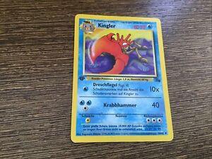Kingler Fossil NM 38//62 Pokemon Card