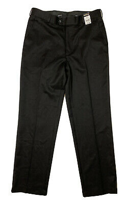Nwt George Men Size 32x32 Actual 32x30 Black Polyester Pants Formal Walmart Ebay