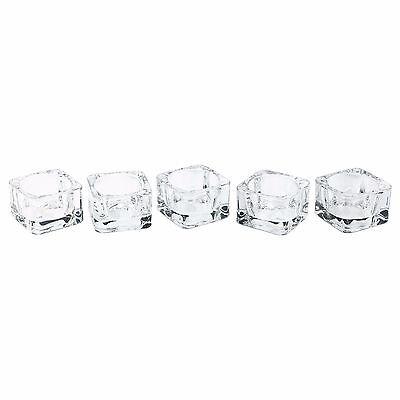 4 IKEA GLASS TEA LIGHT HOLDER PARTY CANDLE HOLDERS WEDDING TEALIGHT HOLDER 38 MM