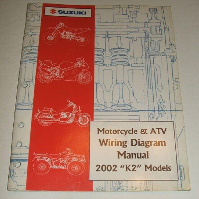 2002 Suzuki Wiring Diagram Manual Gsxr Gsx Dr Vs Gsf Vs