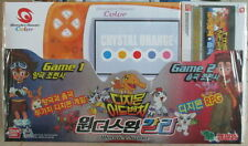 Bandai Color WonderSwan Game Console Crystal Orange with Digimon RPG NEW