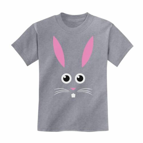 Funny Easter Kids T-Shirt Children/'s Cute Little Easter Bunny Face