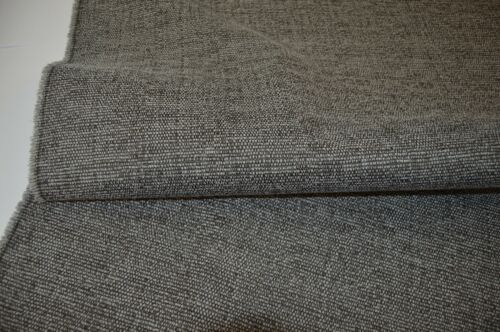 grey charcoal brown fleck upholstery fabric chenille durable sofa caravan