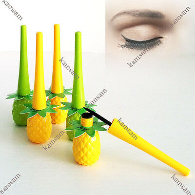 lovely smooth pineapple water proof black liquid eyeliner natural sexy makeup
