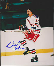 Lot of 10  Nick Fotiu New York Rangers Auto Signed 8x10 Photos *