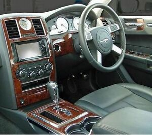 chrysler 300c hemi touring crd interior wood dash trim kit. Black Bedroom Furniture Sets. Home Design Ideas
