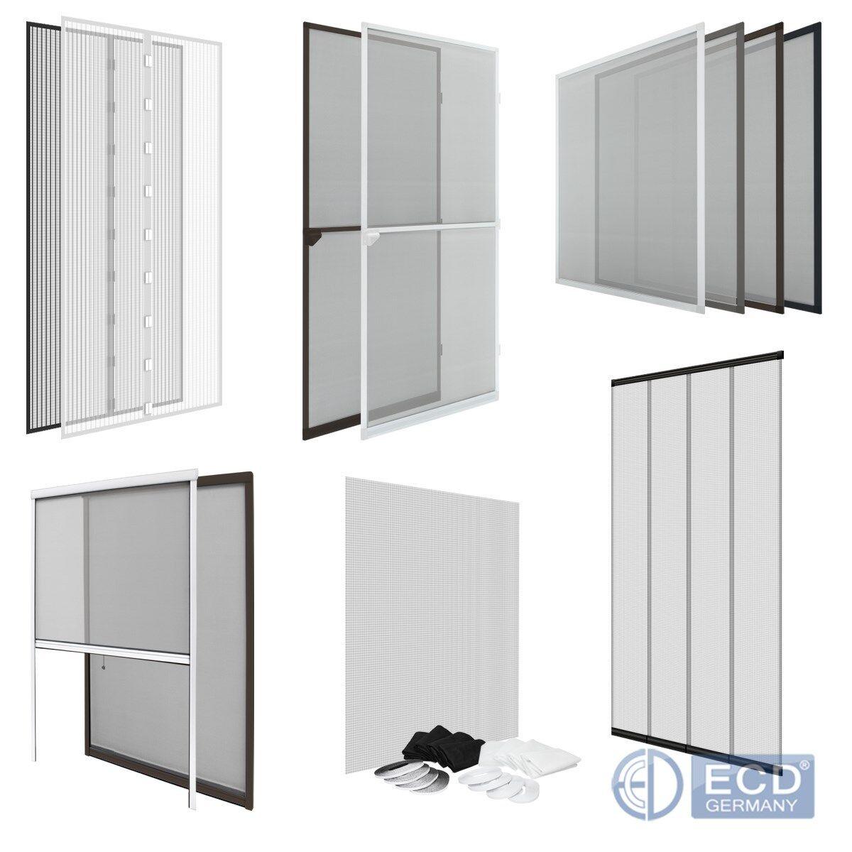 Moustiquaire store magnétique rouleau pour fenêtre   porte cadre en aluminium