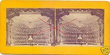 19543/ Stereofoto 9x17,5cm, Mailänder Oper, ca. 1870